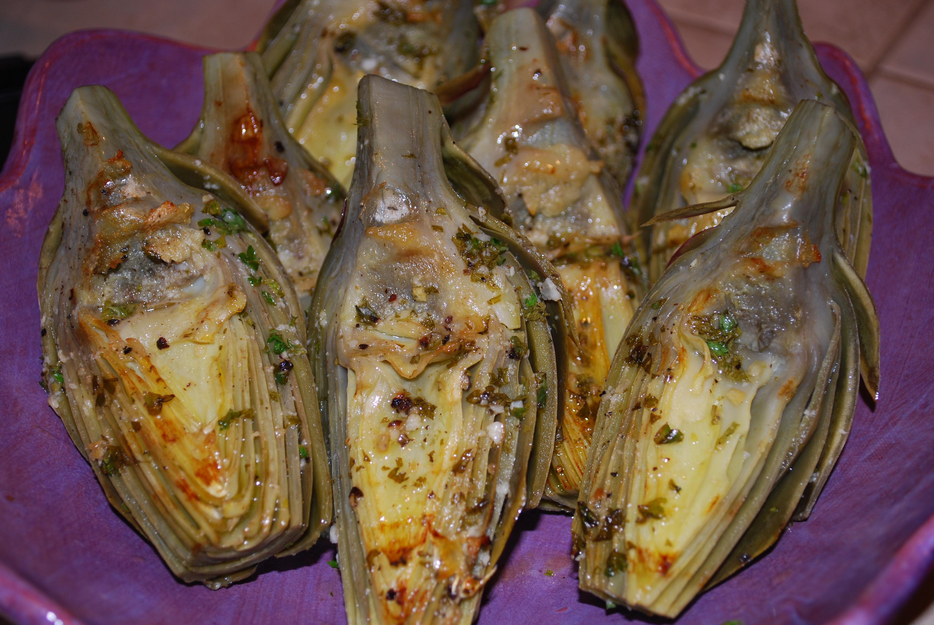 Grilled Artichokes | Sleep Love Eat
