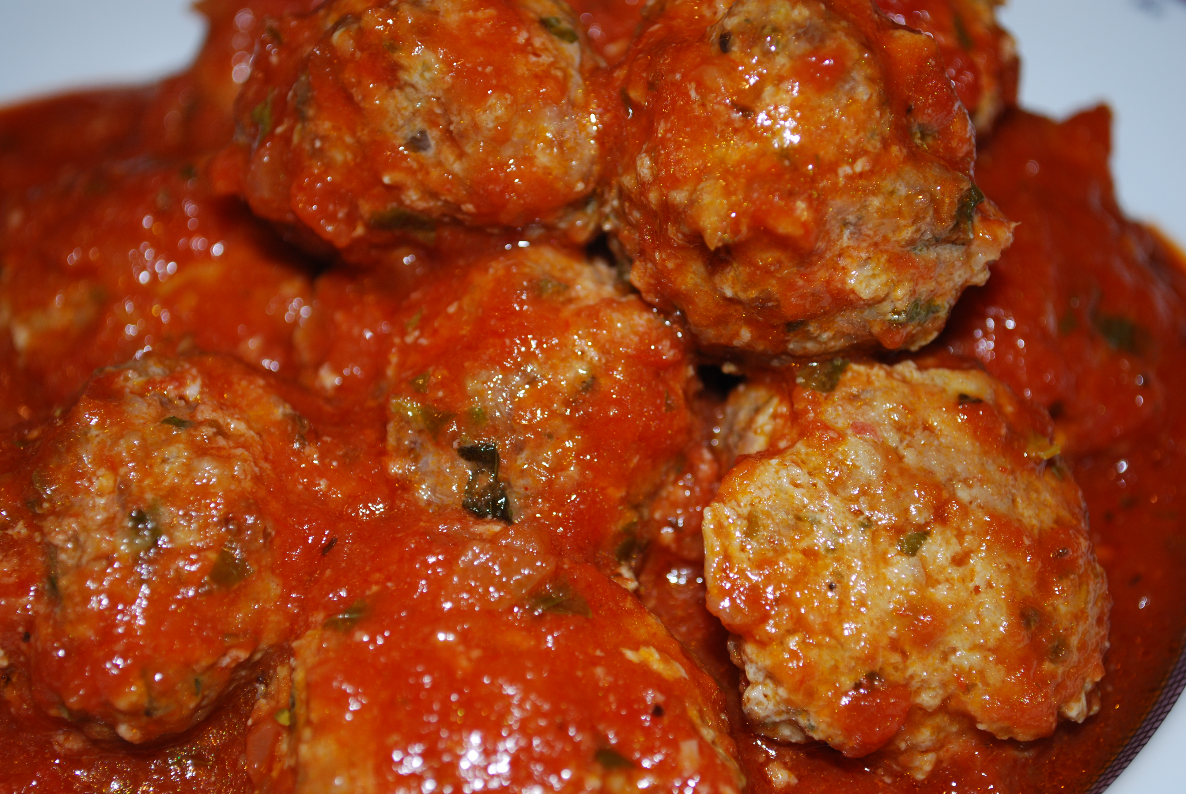 Paleo Meatballs over Marinara | Paleo Power Challenge 90