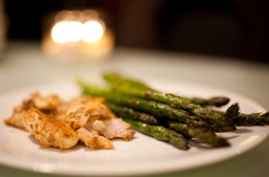 Halibut and Asparagus are back in season!!