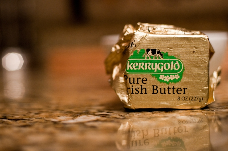 Kerrygold is delicious grass-fed butter.